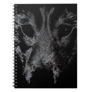 Wolf Pup Notebook Siberian Husky Pup Journal Book
