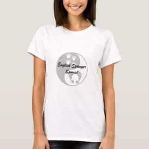 yin yang english springer spaniel T-Shirt